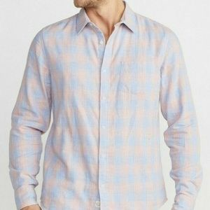 Marine Layer Shirts - Marine Layer Upland Button Down Plaid Shirt